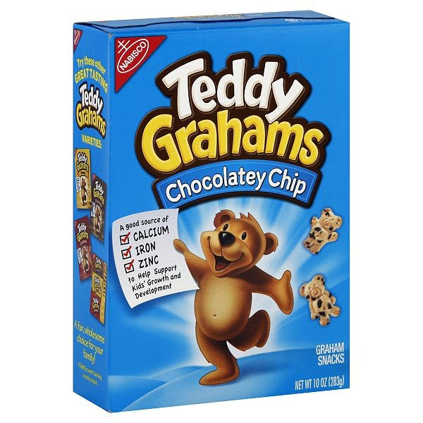 Nabisco Teddy Grahams - Chocolate Chip
